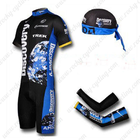 2007 Team Discovery Pro Cycle Apparel Set Riding Jersey and Padded ... 962312078