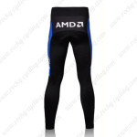2007 Team Discovery Cycle Long Pants Black Blue