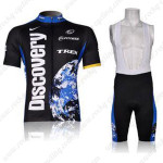 2007 Team Discovery Cycling Bib Kit Black Blue2007 Team Discovery Cycling Bib Kit Black Blue