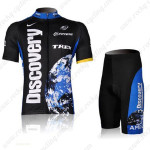 2007 Team Discovery Cycling Kit Black Blue