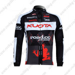 2010 Team KUOTA Cycling Long Jersey Maillot Black Red