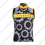 2010 Team LIVESTRONG Cycling Vest Sleeveless Jersey Maillot