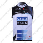 2010 Team SAXO BANK SUNGARD Cycling Vest Sleeveless Jersey Maillot