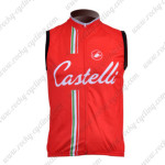 2011 CASTELLI Cycling Vest Sleeveless Jersey Maillot Red