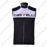2011 CASTELLI Cycling Vest Sleeveless Jersey Maillot White Black