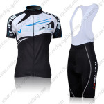 2011 NALINI Women Cycling Bib Kit Black