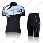 2011 NALINI Women Cycling Kit Black