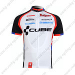 2011 Team CUBE Cycling Maillot Jersey Shirt Black White