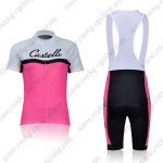 2011 Team Castelli Women Cycling Short Bib Kit