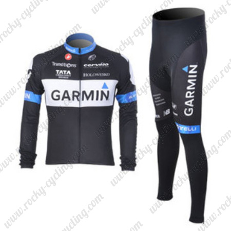 3a9135ed6 2011 Team GARMIN Castelli Pro Winter Cycle Apparel Thermal Fleece ...