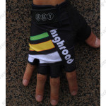 2011 Team HTC highroad Cycling Gloves Mitts Black