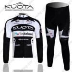 2011 Team KUOTA Cycling Long Kit Black White