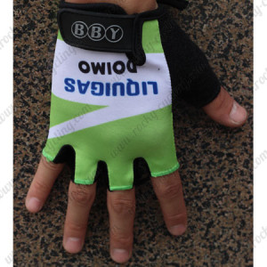 2011 Team LIQUIGAS Cycling Gloves Mitts Green White2011 Team LIQUIGAS Cycling Gloves Mitts Green White