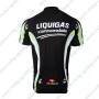 2011 Team LIQUIGAS cannondale Bicycle Maillot Jersey Shirt Black White Green
