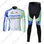 2011 Team LIQUIGAS cannondale Pro Cycle Kit Long Sleeve2011 Team LIQUIGAS cannondale Pro Cycle Kit Long Sleeve