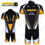 2011 Team LIVESTRONG CHALLENGE Cycling Kit Black Yellow