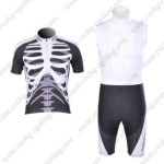 2011 Team NW Northwave Cycling Bib Kit White Black