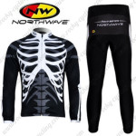 2011 Team NW Northwave Cycling Long Kit Black
