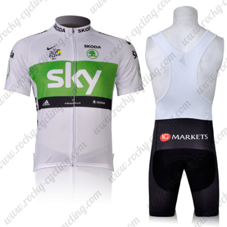 2011 Team SKY Tour de France Racing Outfit Riding Jersey and Padded ... 754657205