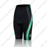 2011 Team SUBARU Women Cycle Shorts Black Green