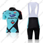 2011 Team SUBARU Women Cycling Bib Kit Blue