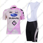 2011 Team SUBARU Women Cycling Bib Kit Pink