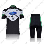 2011 Team SUBARU Women Cycling Kit Black Green