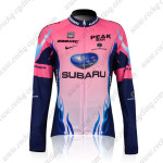 2011 Team SUBARU Women Cycling Long Jersey