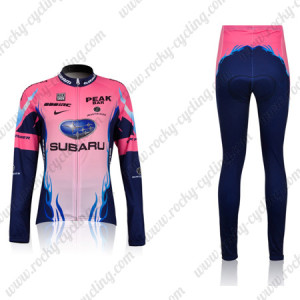 2011 Team SUBARU Women Cycling Long Kit
