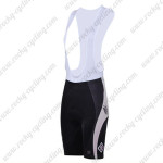 2011 Team SUBARU Women Riding Bib Shorts Pink