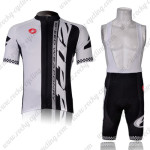2011 ZIPP Cycling Bib Kit White Black