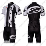 2011 ZIPP Cycling Kit White Black