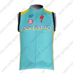 2012 ASTANA Cycling Vest Sleeveless Jersey Maillot
