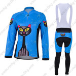 2012 Bluecat Women Cycling Long Bib Kit