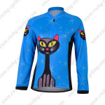 2012 Bluecat Women Cycling Long Jersey