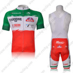 2012 FARNESE VINI Cycling Bib Kit Red Green