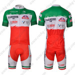 2012 FARNESE VINI Cycling Kit Red Green