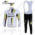 2012 HTC Highroad Pro Cycling Long Bib Kit