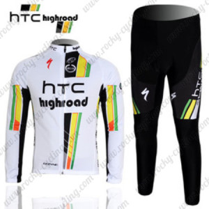 2012 HTC Highroad Pro Cycling Long Kit