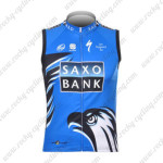 2012 SAXO BANK Cycling Vest Sleeveless Jersey Maillot