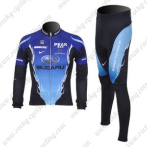 2012 SUBARU Cycling Kit Long Sleeve