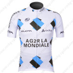 2012 Team AG2R LA MONDIALE Cycling Jersey