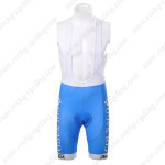 2012 Team COLNAGO Cycling Bib Shorts Blue