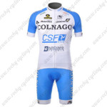 2012 Team COLNAGO Cycling Kit White Blue