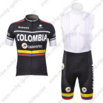 2012 Team COLOMBIA Cycling Bib Kit Black