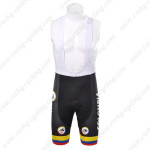 2012 Team COLOMBIA Cycling Bib Shorts