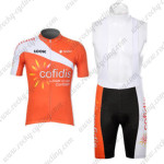 2012 Team Cofidis Cycling Bib Kit2012 Team Cofidis Cycling Bib Kit