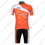 2012 Team Cofidis Cycling Kit