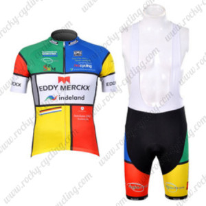 2012 Team EDDY MERCKX Cycling Bib Kit