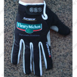 2012 Team Europcar Winter Cycling Thermal Fleece Gloves Black
